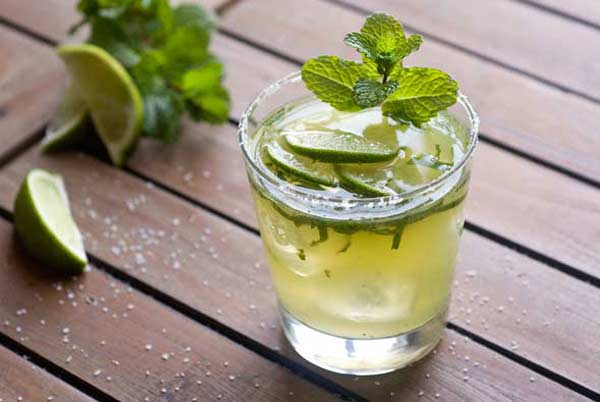 Mint Margaritas Cocktail