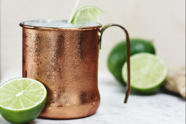 Moscuw Mule Mocktail