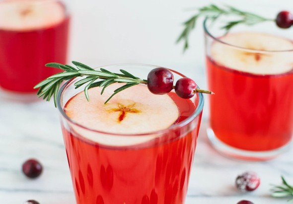 Virgin Cranberry-Apple Cider